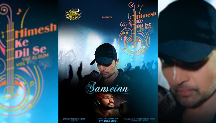 Himesh Reshammiya Launches Sawai Bhatt with the single 'Sanseinn' from his album 'Himesh Ke Dil Se' on 3rd July