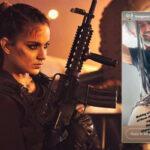 Dhaakad: Kangana Ranaut shares glimpse of making of her fierce 'Agent Agni' character