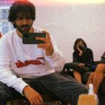 Kartik Aaryan gives a sneak peek into his new look, leaving netizens wondering
