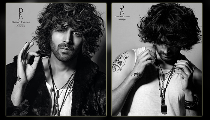 Edgy Tattoos, Nailpaint & Quirky Accessories along with accentuated Messy Hair, Kartik Aaryan is winning the bad boy Image