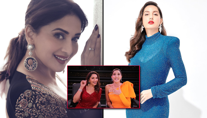 Madhuri Dixit Nene showers Nora Fatehi with praises in the vlog revealed by the latter