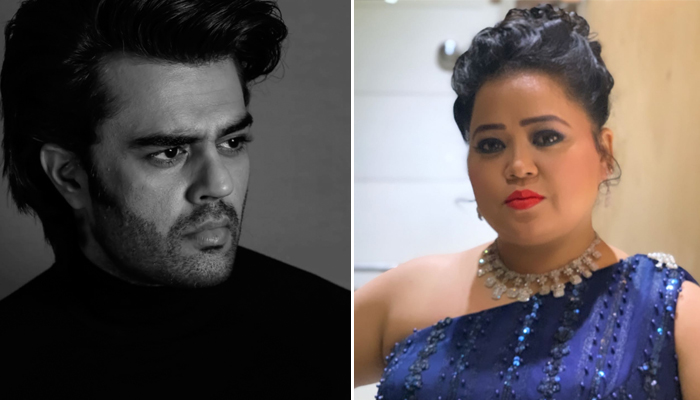 Maniesh Paul and Bharti Singh are a laughter riot in these BTS video of his podcast