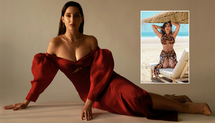Nora Fatehi celebrates 30 Million on Instagram with sultry pictures on beach!