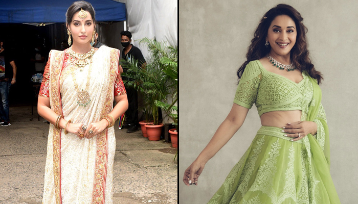 Nora Fatehi pays an ode to her idol Madhuri Dixit Nene, reveals desire to star in her biopic!
