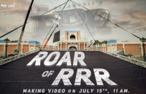 Get Ready for the Roar Of RRR; Glimpse of SS Rajamouli's directorial to be unveiled on THIS Date!