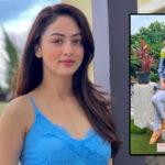 Sandeepa Dhar keeps her 'Kadha Game' strong even while on vacation