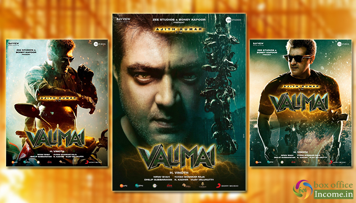 Valimai First Look: Thala Ajith Kumar announces action thriller with H. Vinoth