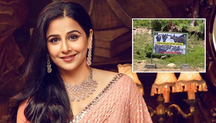 Vidya Balan emerges as a National Inspiration; Firing range is named after her in Kashmir