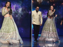 Waluscha De Sousa debuts as a singer for the Grand Finale of the 'Indian Pro Music League'