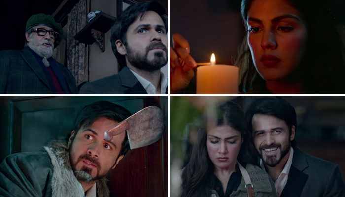 The Tension between Amitabh Bachchan and Emraan Hashmi in Chehre's new dialogue promo will be the new B-Town talk