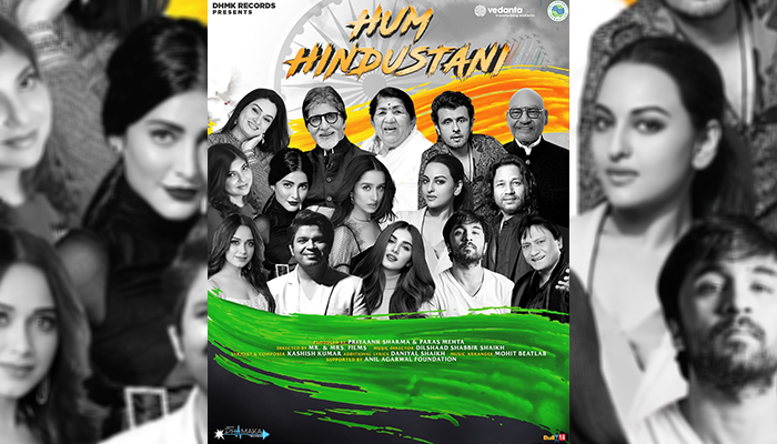 Hum Hindustani: Dhamaka Records unveils the poster of their anthem on hope & unity!