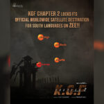 KGF Chapter 2 sells its south satellite rights to ZEE for a record-breaking price!