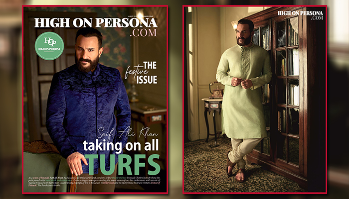 Saif Ali Khan makes a dashing appearance on the cover of High On Persona Magazine