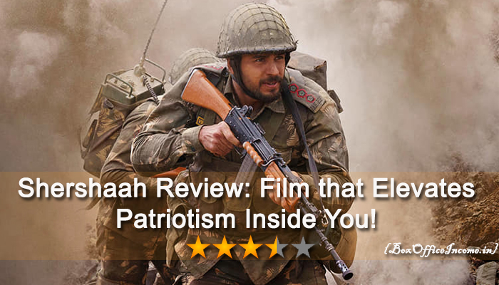 Shershaah Review: Film that Elevates Patriotism Inside You!