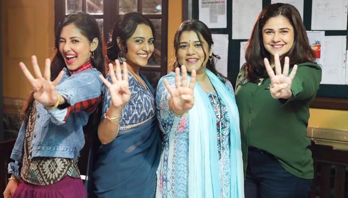 Swara Bhasker, Shikha Talsania, Meher Vij, and Pooja Chopra resume shoot of Jahaan Chaar Yaar