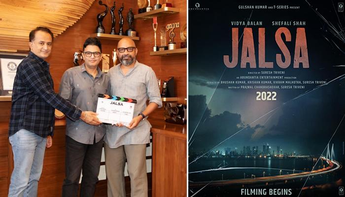 T-Series and Abundantia Entertainment come together for intense drama, Titled Jalsa starring Vidya Balan and Shefali Shah