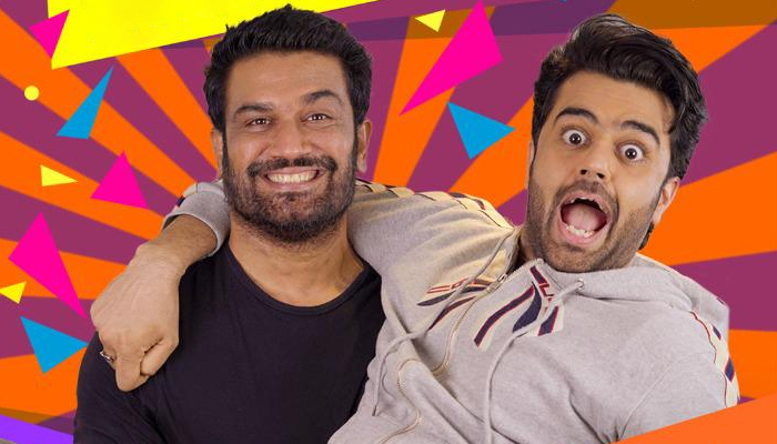 The Maniesh Paul Podcast: Maniesh Paul offers a dramatically funny welcome to his next guest Sharad Kelkar on his show