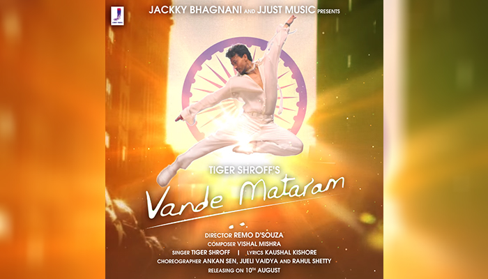 Vande Mataram: Tiger Shroff Unveils Motion Poster of his New Single; Directed By Remo D'Souza