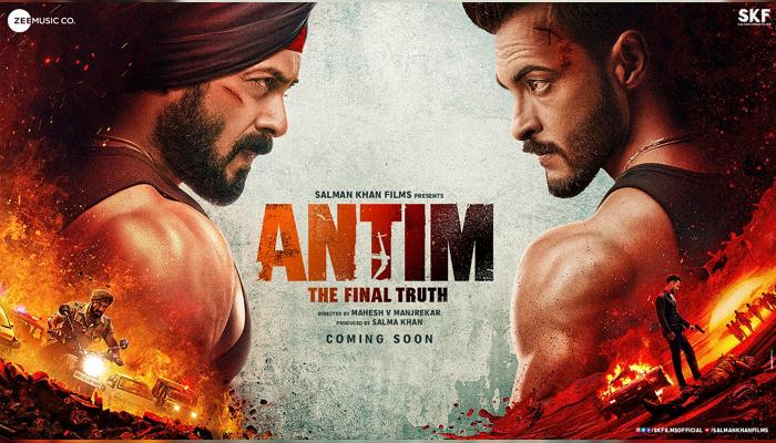 Antim The Final Truth: First poster reveals the ferocious fight between Salman Khan and Aayush Sharma