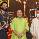 Bobby Deol felicitated with the Award for 'Best Actor OTT Star' for Aashram at the 27th Lions Gold Awards 2021
