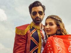 Dhvani Bhanushali's new vibrant Navratri song 'Mehendi' with Gurfateh Pirzada out now