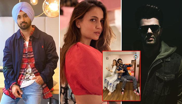 Diljit Dosanjh approves Maniesh Paul and Elli AvrRam's 'Vibe' - Watch Video