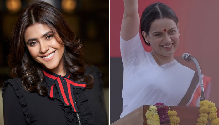 Ekta Kapoor Praises Kangana Ranaut's Thalaivii, Says 'This film probably one of the most watchable experiences of the year'