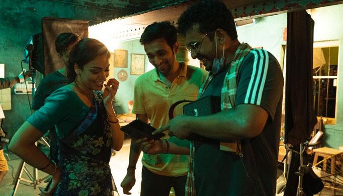 Khushali Kumar wraps first schedule of her film Dedh Bigha Zameen opposite Pratik Gandhi