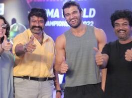 Nandamuri Balakrishna makes surprise visit to the sets of Vijay Deverakonda's Liger