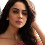 Actress Rakul Preet Singh appears before the ED In Connection With 2017 Drug Case In Hyderabad