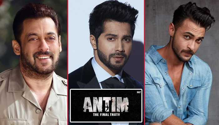 Salman Khan all set to launch Varun Dhawan's Ganpati Song from Aayush Sharma starrer 'Antim' this week