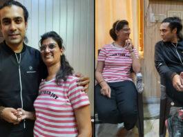 Singer Jubin Nautiyal surprises his fan and KBC 13 Winner Himani Bundela by visiting her home in Agra