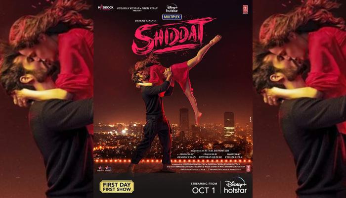 Sunny Kaushal & Radhika Madan starrer Shiddat to release on Disney+ Hotstar on October 1st