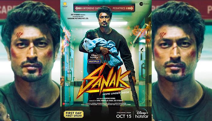 Vidyut Jammwal starrer Sanak to release on Disney+ Hotstar on 15 October 2021