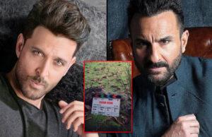 Vikram Vedha Hindi Remake: Hrithik Roshan and Saif Ali Khan starrer goes on floors in UAE!