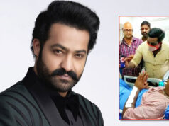 Jr NTR ardent fan injured in an accident; Actor video called to him and assists with medical treatment