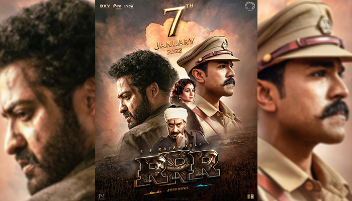 RRR: Jr NTR, Ram Charan, Ajay Devgn and Alia Bhatt Starrer Finally Gets Its Release Date With A New Poster!