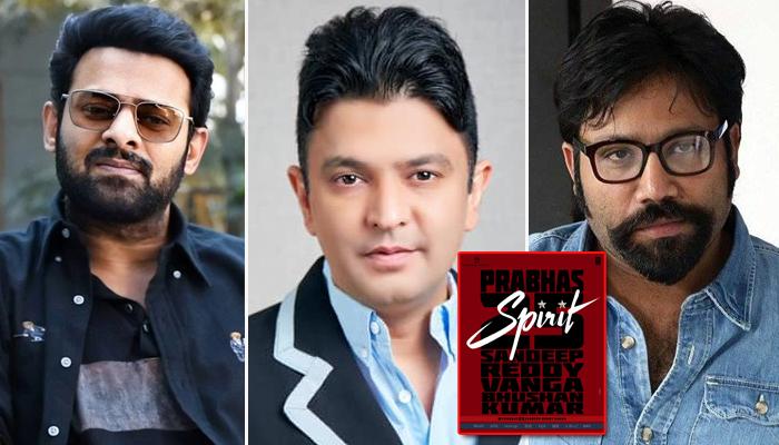 Spirit: Prabhas joins hands with Bhushan Kumar & Sandeep Reddy Vanga for his 25th film!