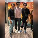 Pratik Gandhi and Sunny Hinduja catch-up over Bhavai screening