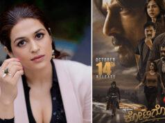 Shraddha Das Talks About Her Character in Kichcha Sudeep starrer Kotigobba 3